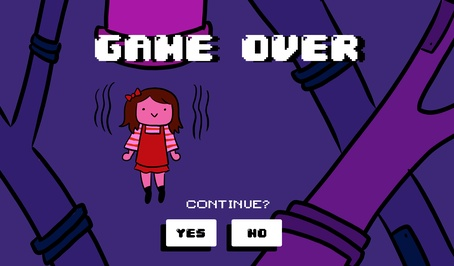 GAME OVER/continue?
